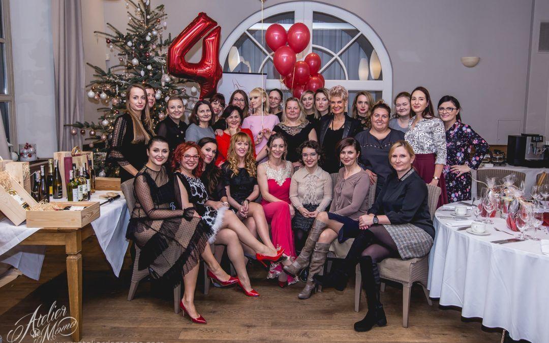 Świąteczna kolacja z Klubowiczkami i 4 urodziny Czerwonej Szpilki – relacja